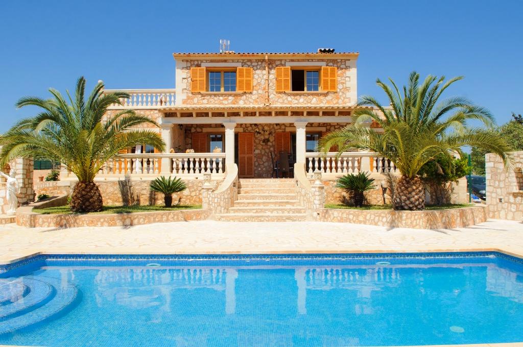 Luxusfinca Mallorca Suden Osten 6 Personen Klimaanlage Pool Internet