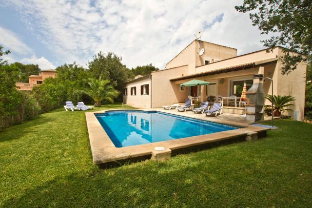 Ferienhaus mallorca norden sa pobla 8 personen pool for Garten pool leeren